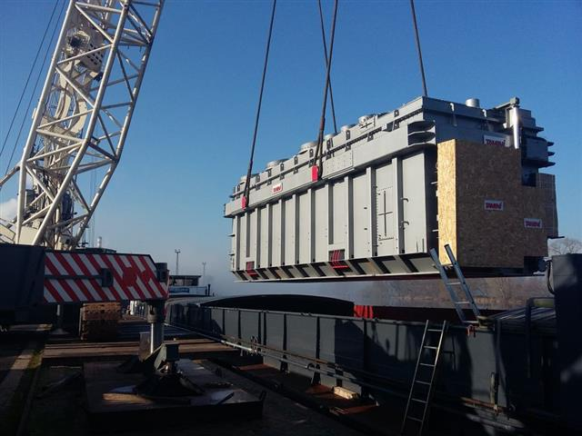 Phase Shifting Transformers - Series Unit - Lovosice River-Port (Czech Republic)