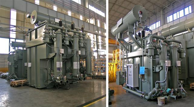 EAF Transformer 100 MVA & LF Transformer 20 MVA